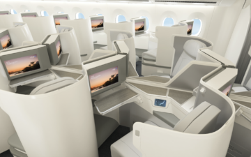 Fiji Airways A350 Business Class