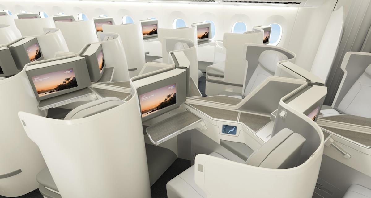 Fiji Airways Reveals New A350 Business Class