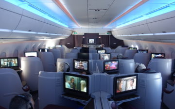 Qatar Airways A350 Business Class – 57