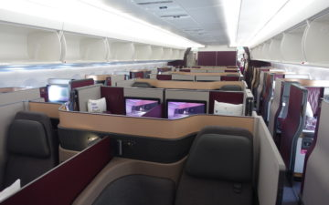 Qatar Airways Qsuites A350 – 1