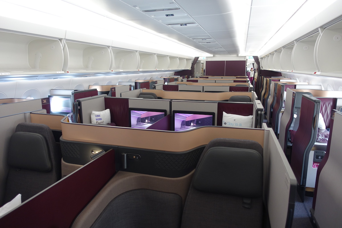 Qatar Airways Qsuites A350 1