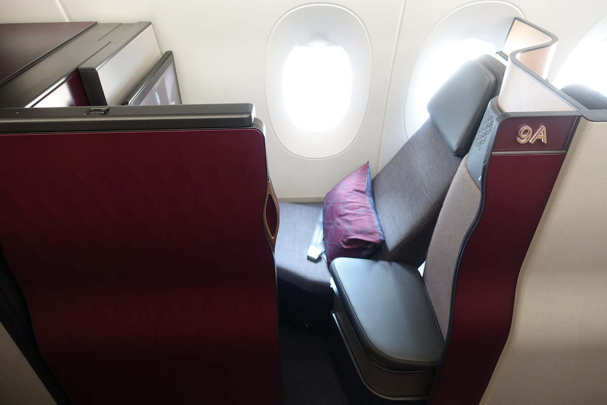 Qatar Airways Qsuites A350 10