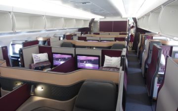 Qatar Airways Qsuites A350 – 2