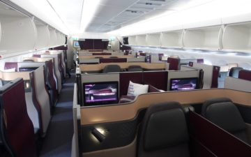 Qatar Airways Qsuites A350 – 3