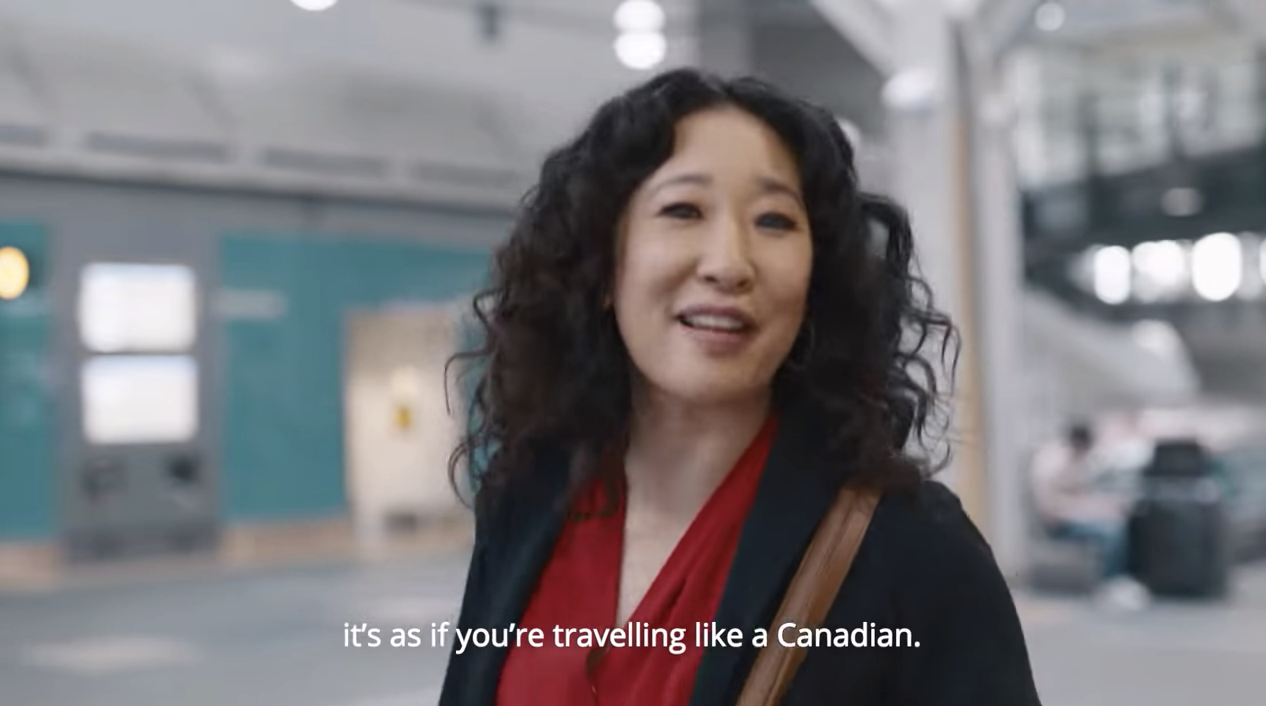 Air Canada Debuts Fun New Ad Starring Sandra Oh