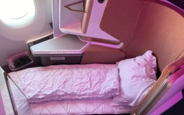 Virgin Atlantic A350 Business Class – 24