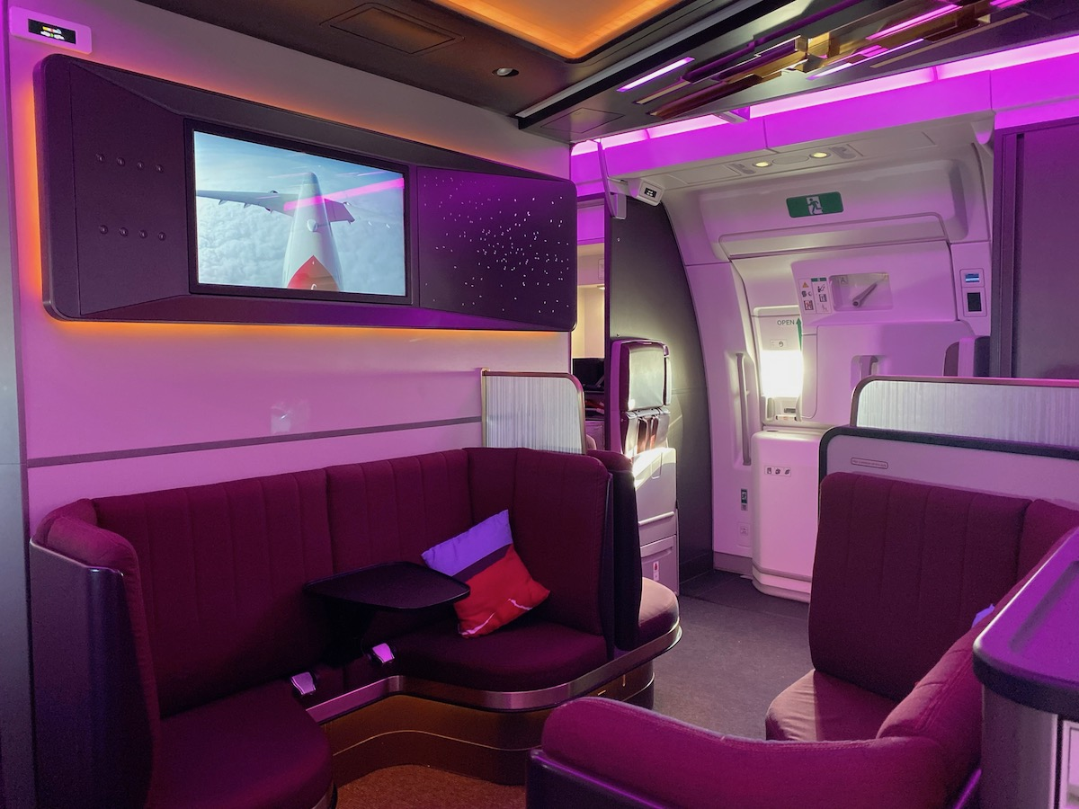 Virgin Atlantic A350 Upper Class 37