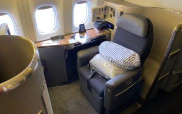 American 777 First Class – 8