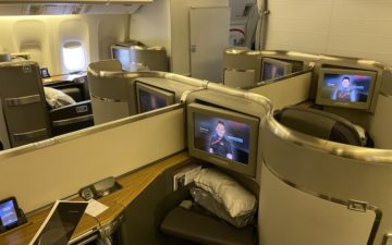 American Airlines 777 First Class