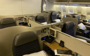 American First Class 777