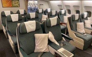 Cathay Dragon Business Class A330 – 3