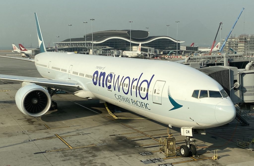 Cathay Pacific 777 Oneworld 1