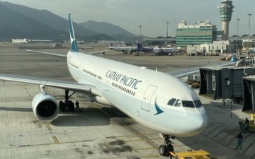 Cathay Pacific A330 300