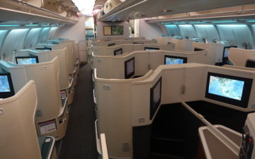 Cathay Pacific A330 Business Class – 3