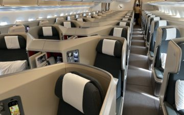 Cathay Pacific A350 Business Class – 2