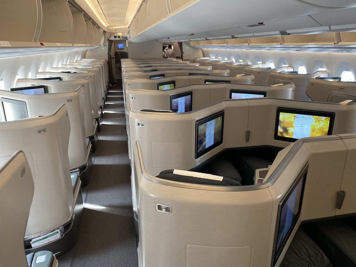 Cathay Pacific A350 Business Class 3