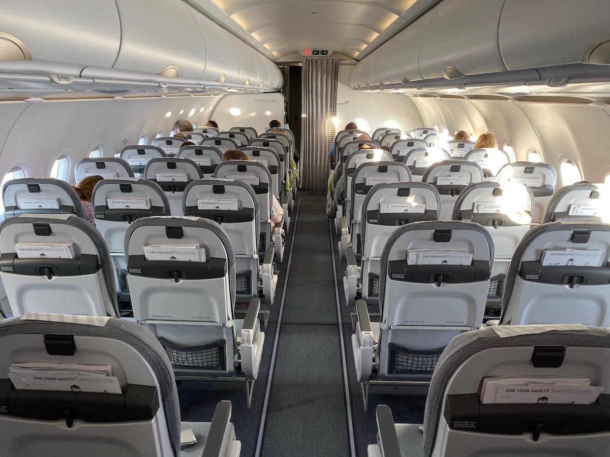 Finnair Business Class A321 21