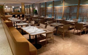 Qantas First Lounge Singapore – 15