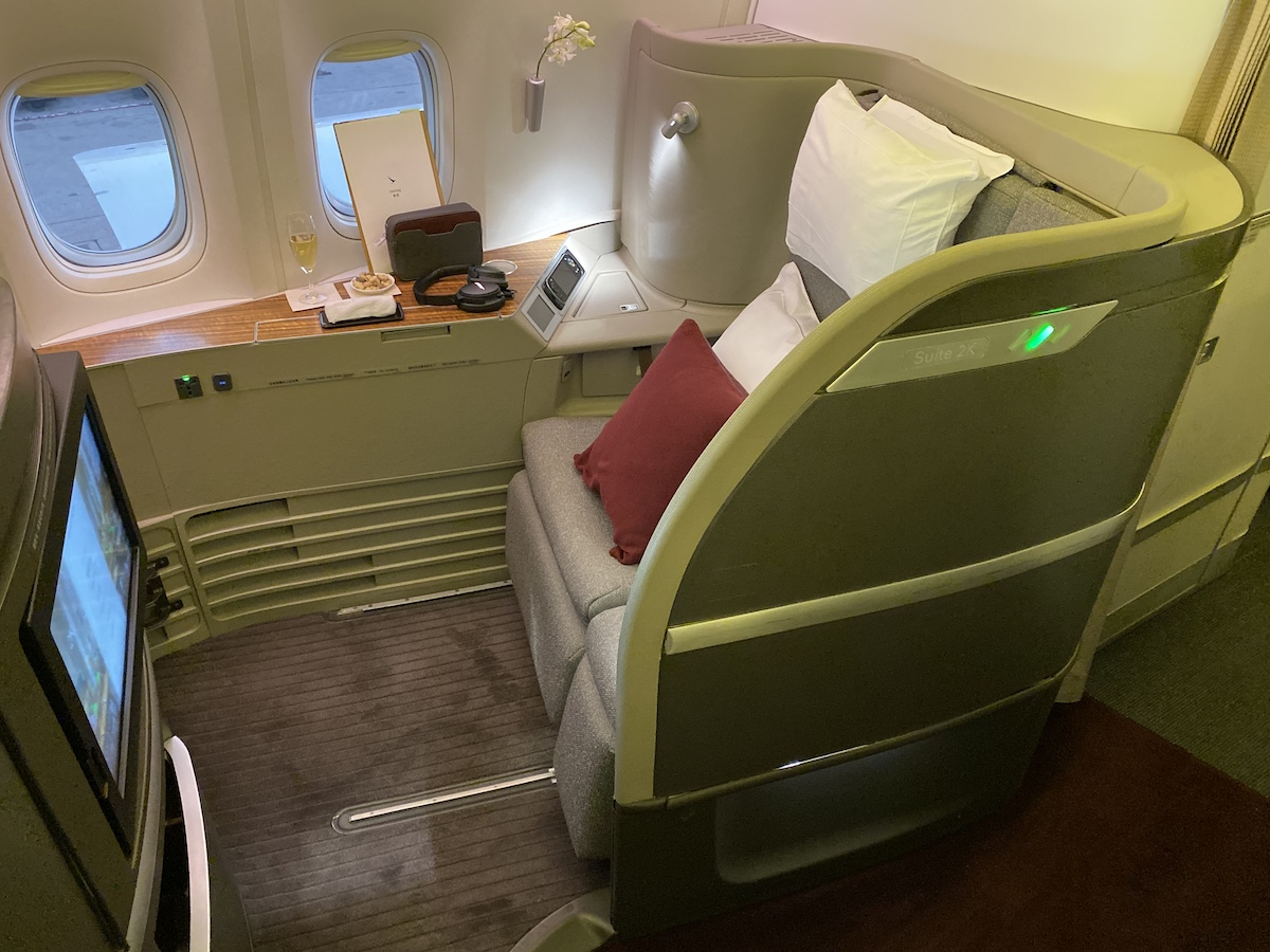 cathay pacific first class 2