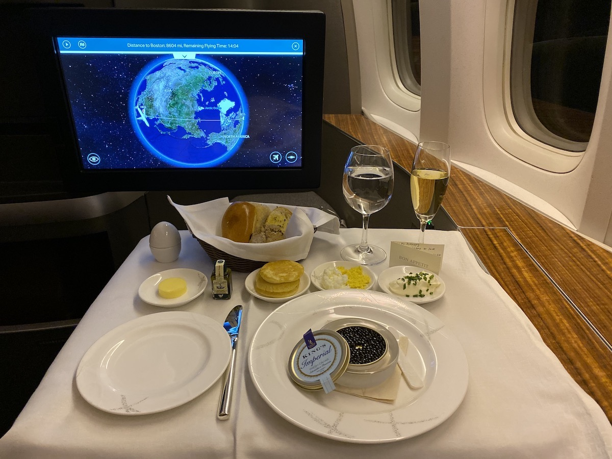Cathay Pacific 777 First Class 41