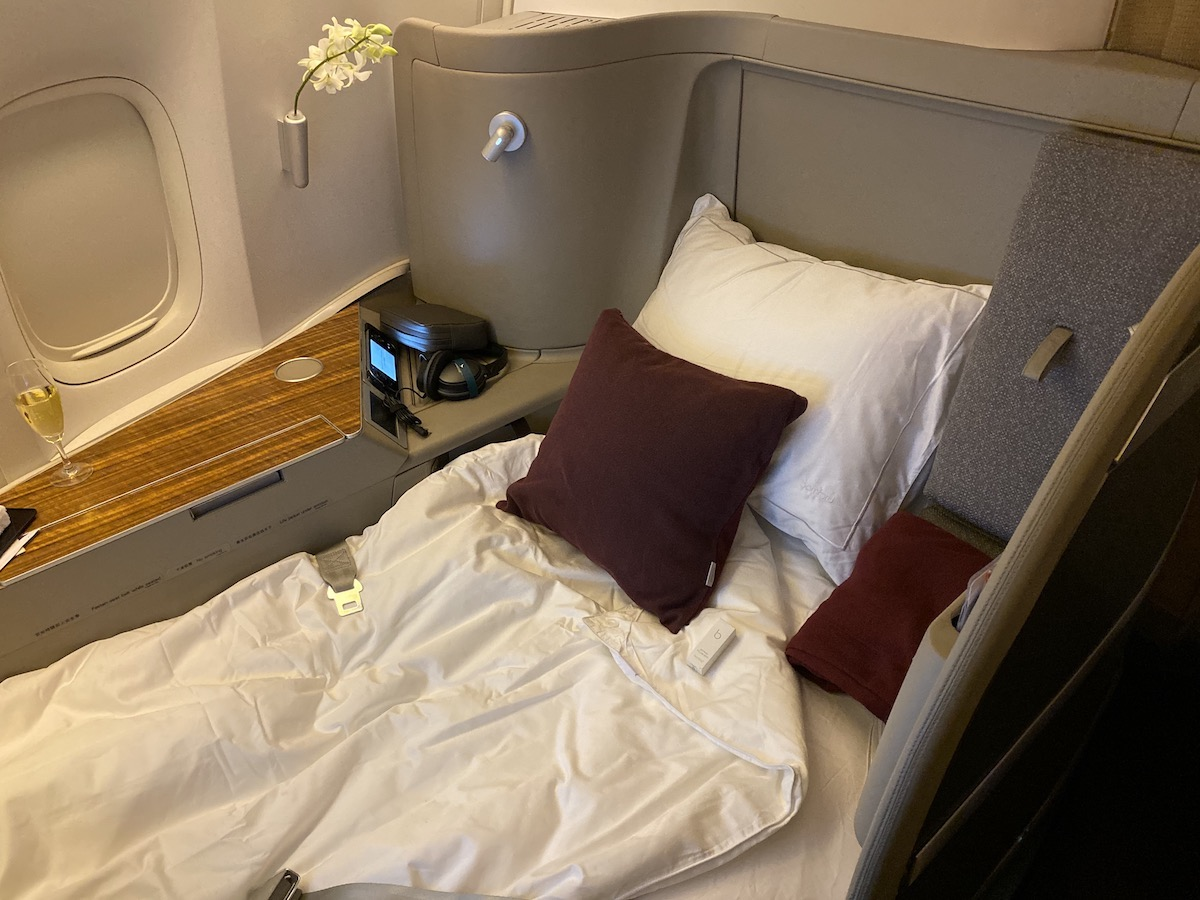 Cathay Pacific 777 First Class 49