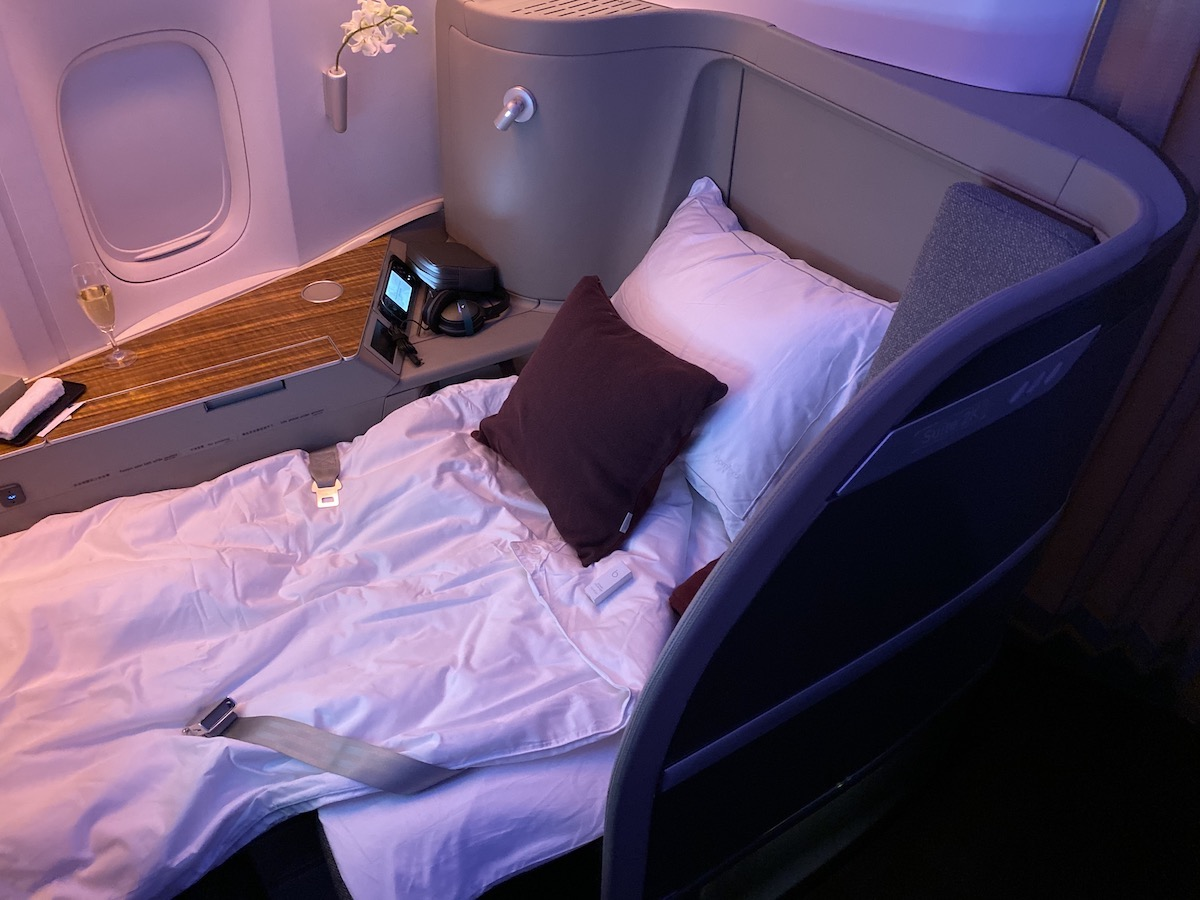 Cathay Pacific 777 First Class 52