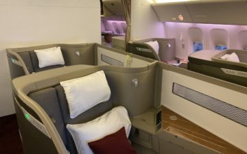 Cathay Pacific 777 First Class – 7