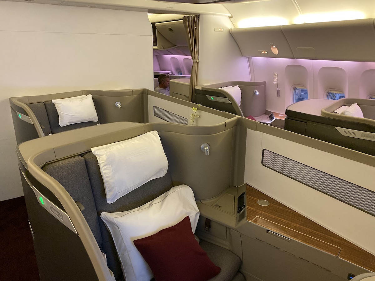Review Cathay Pacific 777 First Class One Mile At A Time