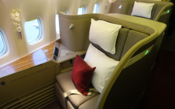 Cathay Pacific First Class – 2