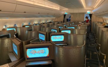China Airlines A350 Business Class – 1