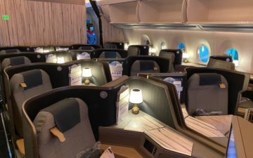 China Airlines A350 Business Class – 3