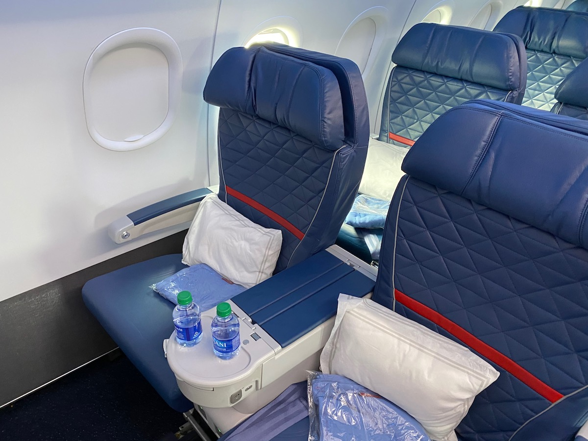 Delta Air Lines A320 First Class