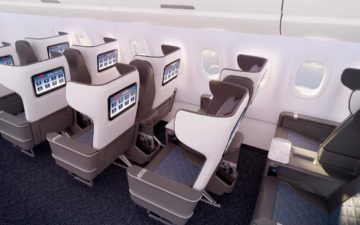 Delta First Class Seat A321neo