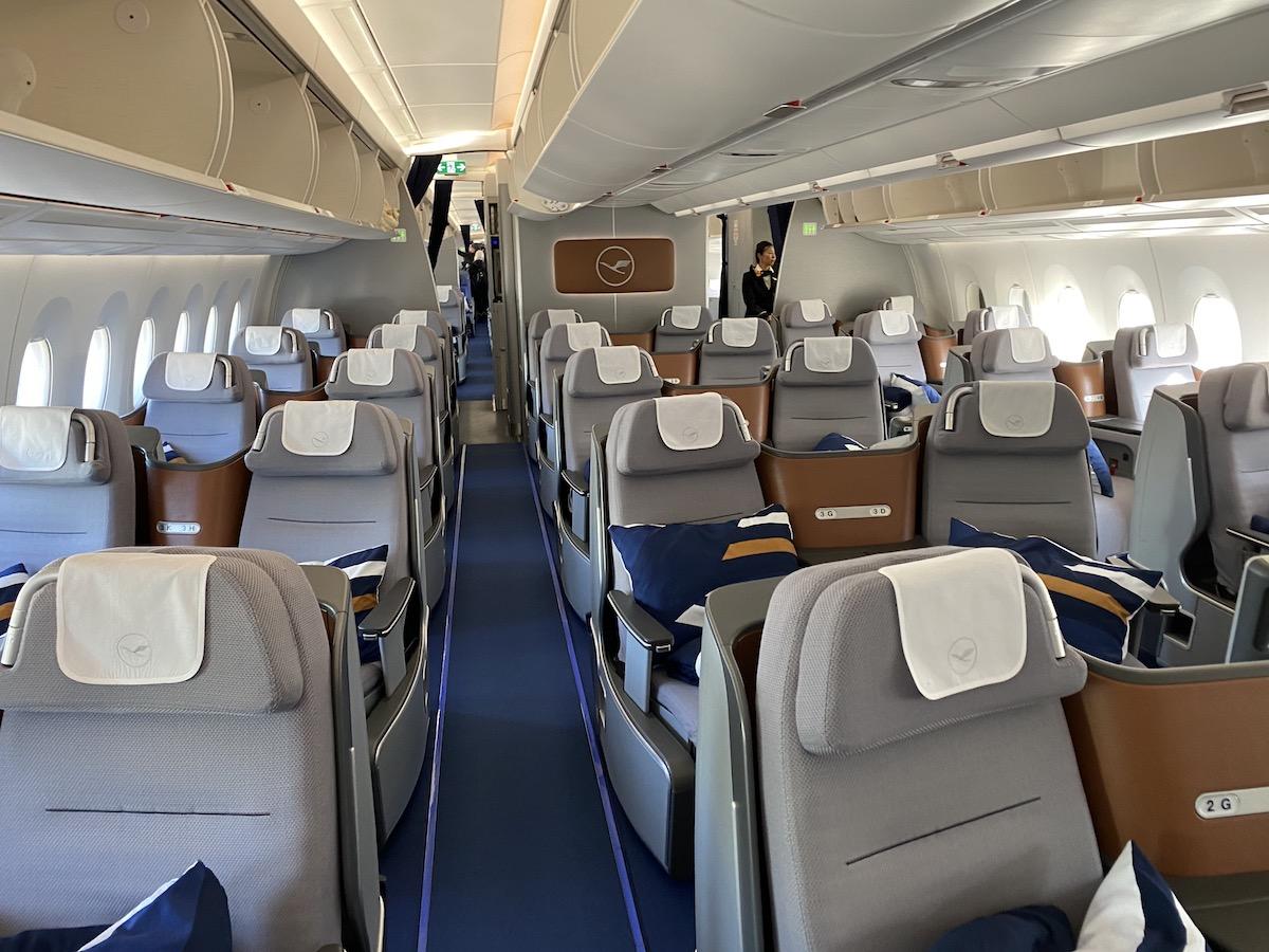 Review: Lufthansa A350 Business Class