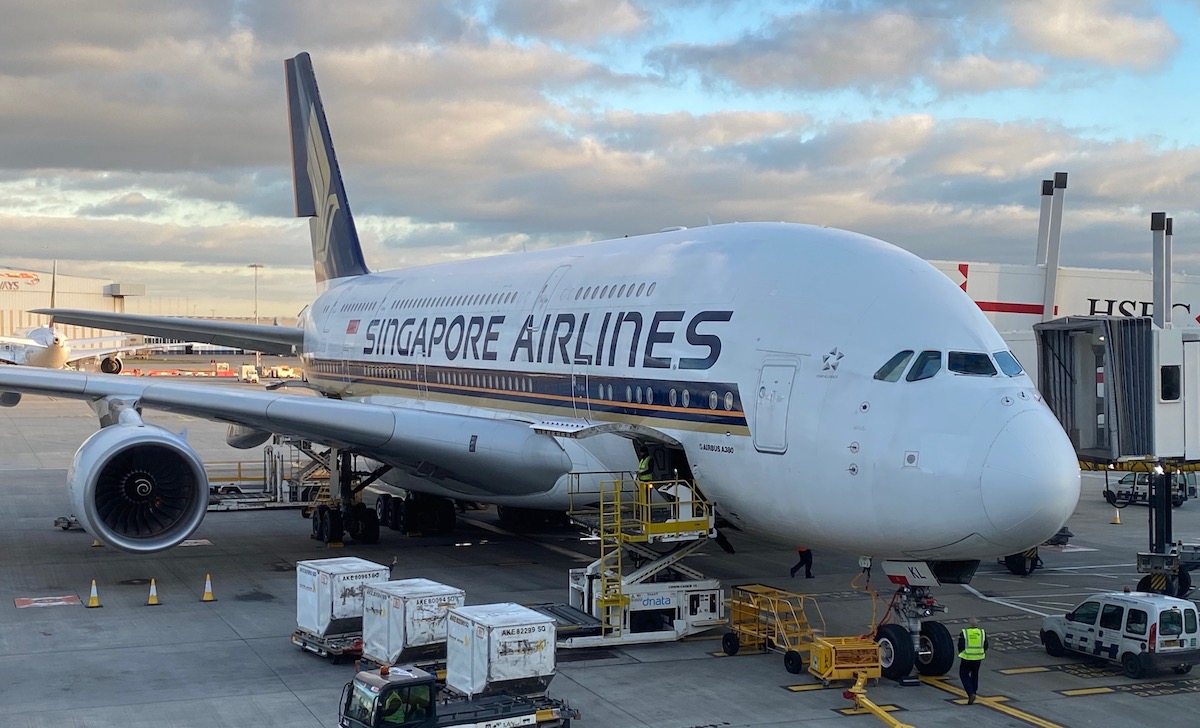 Singapore Airlines A380
