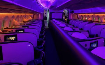 Virgin Atlantic 787 Upper Class – 3