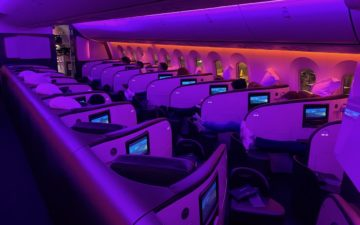 Virgin Atlantic 787 Upper Class – 35