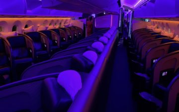 Virgin Atlantic 787 Upper Class – 4