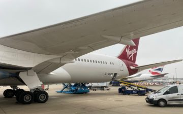 Virgin Atlantic 787 Upper Class – 61