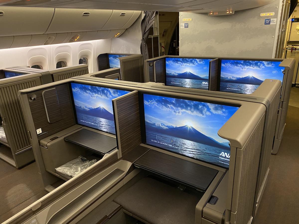 new ana first class
