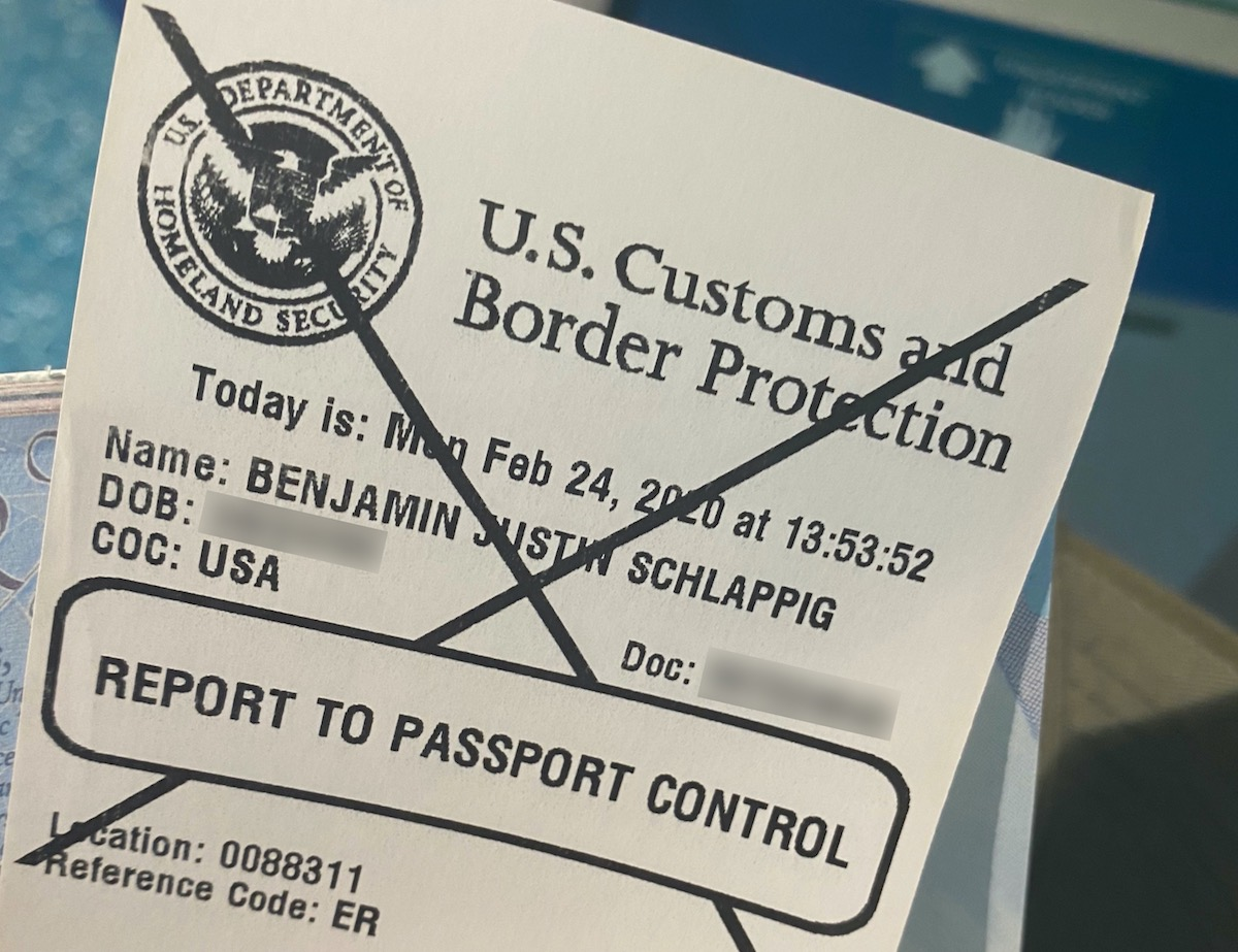 I Got Secondary Screening With Global Entry | One Mile at a Time