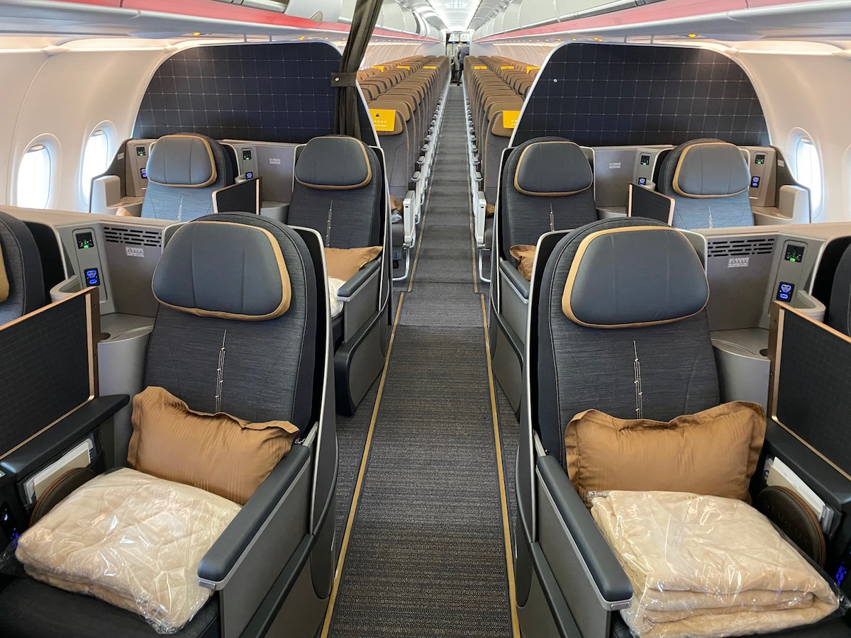 Starlux Airlines Business Class 3