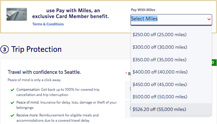 delta pay with miles 2 1