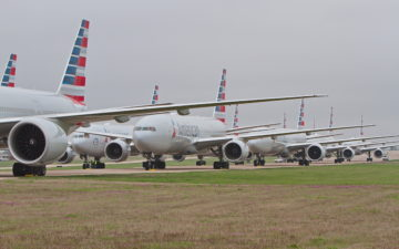American Planes Parked Tulsa 1