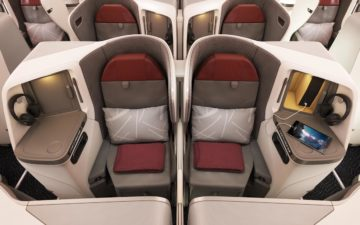 Vistara Business Class 787