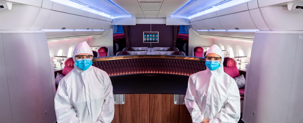 Qatar Airways Crews To Wear Full Body PPE | One Mile at a Time