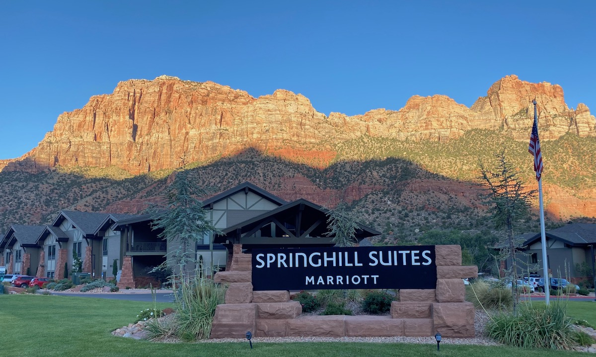 Review: SpringHill Suites Zion National Park   One Mile at a Time