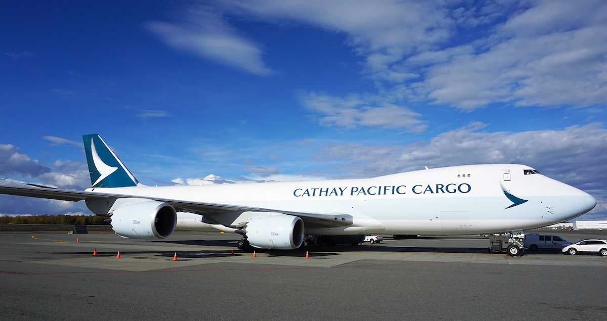Cathay Pacific Cargo 747 8
