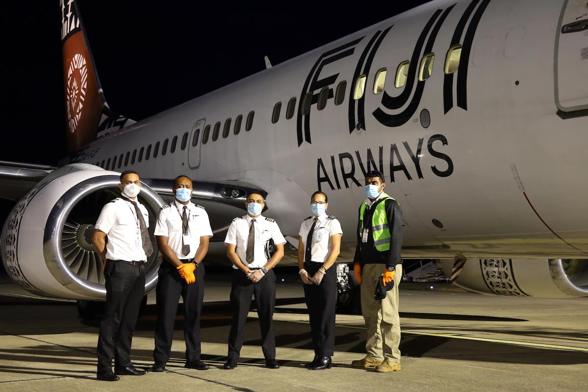 Fiji Airways 737's Epic Journey To Europe | One Mile at a Time