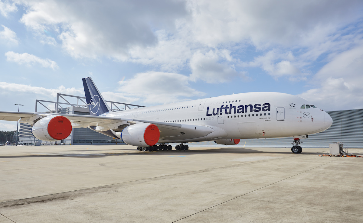 Lufthansa A380 Storage